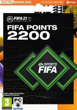 Joc FIFA 21 2200 FUT Points Origin Key pentru Origin