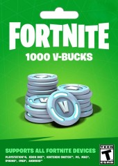 Fortnite Epic Games Key 1000 V Bucks