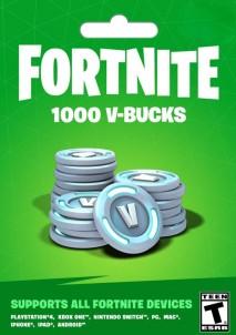 Fortnite Epic Games Key 1000 V Bucks