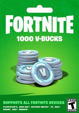 Joc Fortnite Epic Games Key 1000 V Bucks pentru Official Website