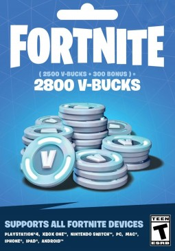 Joc Fortnite Epic Games Key 2800 V Bucks pentru Official Website