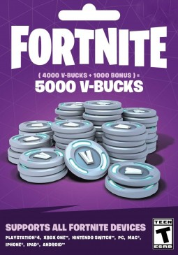 Joc Fortnite Epic Games Key 5000 V Bucks pentru Official Website