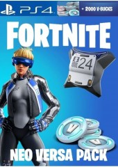 Fortnite Neo Versa + 2000 V-bucks PS4