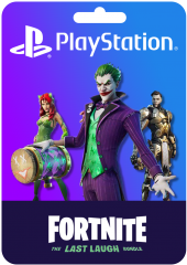 FORTNITE THE LAST LAUGH BUNDLE PS4 KEY