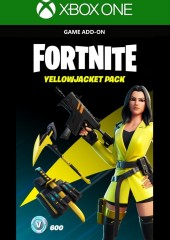 FORTNITE THE YELLOWJACKET PACK XBOX LIVE KEY