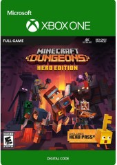 MINECRAFT: DUNGEONS HERO EDITION (XBOX ONE) - XBOX LIVE KEY