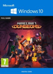 MINECRAFT: DUNGEONS PC WINDOWS 10 KEY