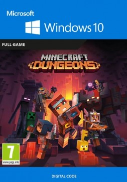 Joc MINECRAFT: DUNGEONS PC WINDOWS 10 KEY pentru Official Website