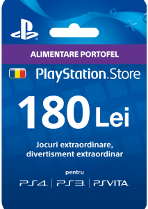 Playstation Gift Card 180 LEI