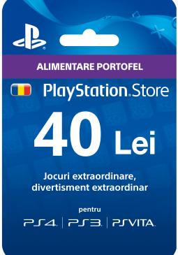 Joc Playstation Gift Card 40 RON pentru PSN
