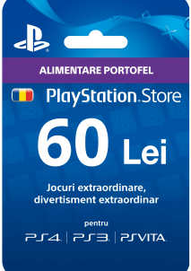 Playstation Gift Card 60 LEI