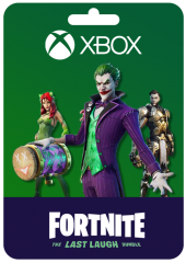 FORTNITE THE LAST LAUGH BUNDLE XBOX KEY
