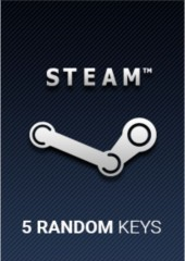 Random x 5 Keys Steam