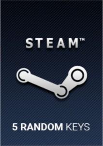 Random x 5 Keys Steam
