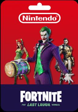 Joc FORTNITE - THE LAST LAUGH BUNDLE (NINTENDO SWITCH) KEY pentru Nintendo eShop