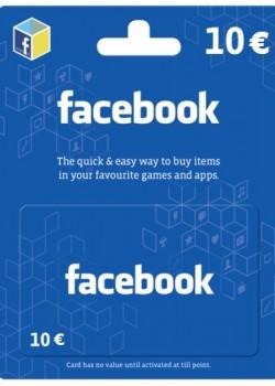 Facebook Game Card 10 EUR