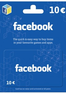 Joc Facebook Game Card 10 EUR pentru Official Website