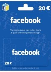 Facebook Game Card 20 EUR