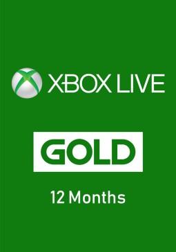Joc Xbox Live Gold 12 months pentru XBOX