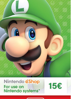 Nintendo eShop Card 15€