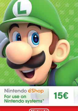 Joc Nintendo eShop Card 15€ pentru Nintendo eShop