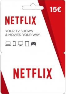Netflix Gift Card 15 EUR