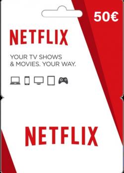 Netflix Gift Card 50 EUR