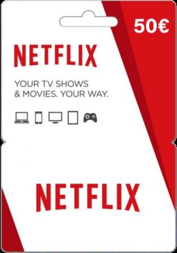 Joc Netflix Gift Card 50 EUR pentru Netflix Card