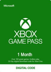 Microsoft Xbox Game Pass 1 Month