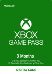 MICROSOFT XBOX GAME PASS 3 MONTHS