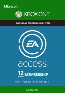 EA ACCESS XBOX LIVE 12 Months