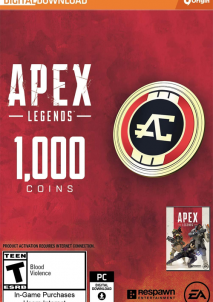 Apex Legends - Apex Coins Origin 1000 Points GLOBAL