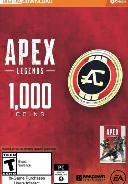 Joc Apex Legends - Apex Coins Origin 1000 Points GLOBAL pentru Origin