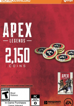 Joc Apex Legends - Apex Coins Origin 2150 Points GLOBAL pentru Origin