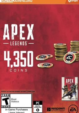 Joc Apex Legends - Apex Coins Origin 4350 Points GLOBAL pentru Origin