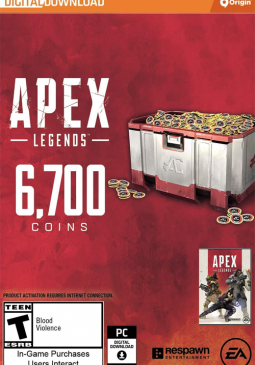 Joc Apex Legends - Apex Coins Origin 6700 Points GLOBAL pentru Origin