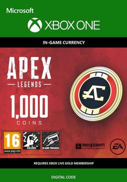 Joc Apex Legends - Apex Coins 1000 Points XBOX ONE pentru XBOX
