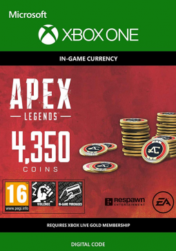 Joc Apex Legends - Apex Coins 4350 Points XBOX ONE pentru XBOX