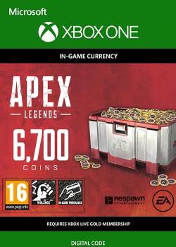 Apex Legends - Apex Coins 6700 Points XBOX ONE