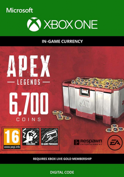 Joc Apex Legends - Apex Coins 6700 Points XBOX ONE pentru XBOX