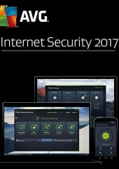 AVG Internet Security 2017.2 years, 3 Users  Electronic License