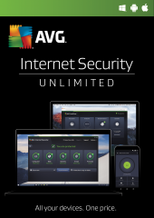 AVG Internet Security 2017.2 Years, Unlimited Devices Electronic License