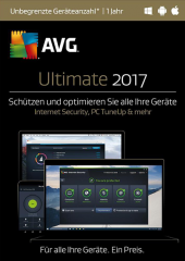 AVG Ultimate 2017 Unlimited Devices Electronic License