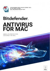 Bitdefender Antivirus for Mac - 1 year, 3 Users  Electronic License