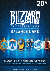 Blizzard GiftCard 20 EUR Battle.net EU
