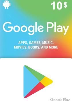 Google Play Gift Card 10 USD America