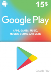 Google Play Gift Card 15 USD America
