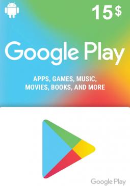 Joc Google Play Gift Card 15 USD America pentru GOOGLE PLAY