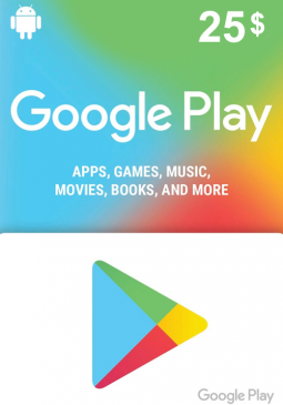 Joc Google Play Gift Card 25 USD America pentru GOOGLE PLAY