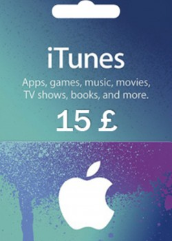 Apple iTunes Gift Card 15 GBP United Kingdom